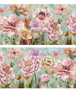 Lienzo flores 150x3x60 cm
