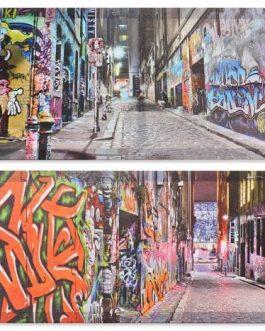 Lienzo graffiti 90×30 cm