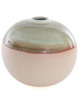 Jarrón cerámica 15x15x13 cm