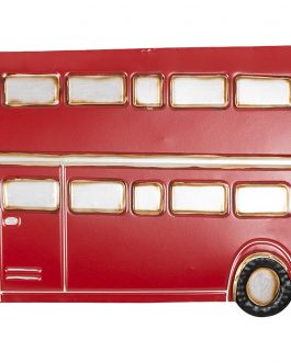 Deco metal autobus 60,3×1,9×49,5 cm