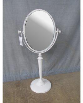 Espejo tocador metal 25,5x15x52 cm
