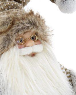 Papá Noel con trineo 42x32x45 cm