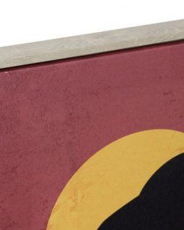 Cuadro africana 50x3x70 cm