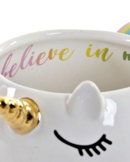 Mug dolomite unicornio 16,7×11,3×9,5 cm