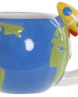 Mug dolomite planeta tierra 17×11,4×10,3 cm