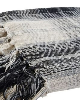 Plaid algodón tartán 130×190 cm
