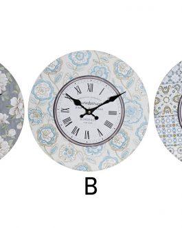Reloj pared 33,8×3,8×33,8 cm