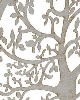 Decoración metal árbol de la vida 60×60 cm