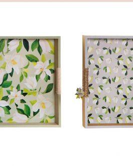 Bandeja «Magnolio» 40x30x5 cm