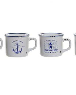 Mug gres 14x14x6,5 cm