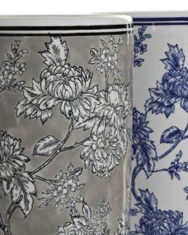 Paragüero porcelana 19,5×19,5×44 cm