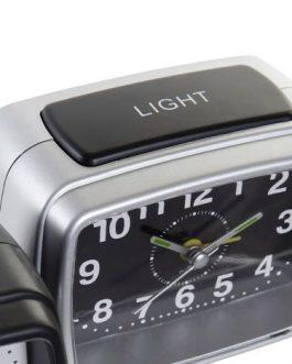 Reloj despertador PVC 11x7x8 cm