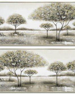 Cuadro árboles 152x5x62 cm