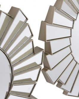Set 3 espejos PS 25x2x25 cm