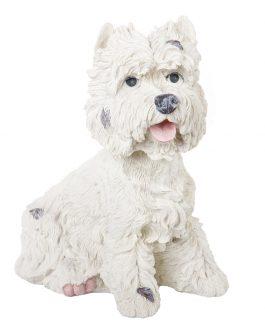 Figura perro resina 26x17x31 cm
