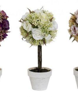 Planta artificial rosas 13x290cm
