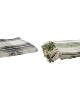Plaid algodón tartán 130x190cm