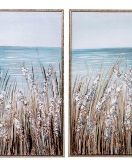 Cuadro paisaje con marco 53x3x73 cm